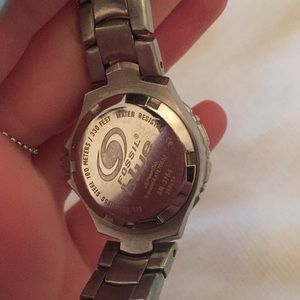 Fossil Accessories - Fossil Watch Silver & Pink